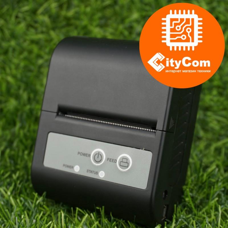 Портативный переносной термопринтер чеков для бара, кафе, склада, магазина XPrinter XP-P100, 58mm