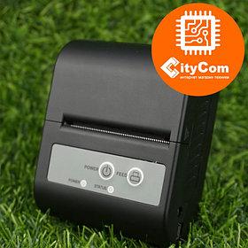 Портативный переносной термопринтер чеков для бара, кафе, склада, магазина XPrinter XP-P100, 58mm Арт.4197