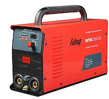 Инверторный аппарат аргонодуговой сварки, FUBAG INTIG 200 DC + горелка FB TIG 26 5P 4m