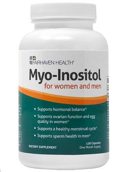 Fairhaven Health, Мио-Инозитол, для женщин и мужчин, 120 капсул