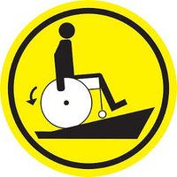 Знак Туалет для инвалидов