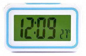 Говорящие часы с будильником и термометром