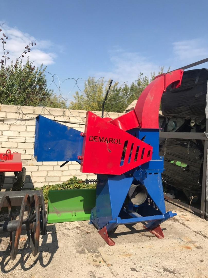 Измельчитель веток навесной (веткодробилка) R-12/R-13 Demarol Польша