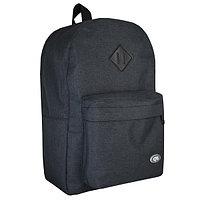 Рюкзак молодежный 43см, черный