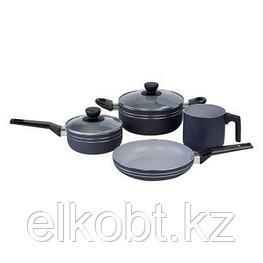 Набор посуды с антипригарным мраморным покрытием GALAXY GL9508