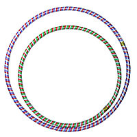 Обруч цветные полоски б (68см диаметр), фото 1