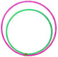 Обруч цветной средний (60см диаметр), фото 1