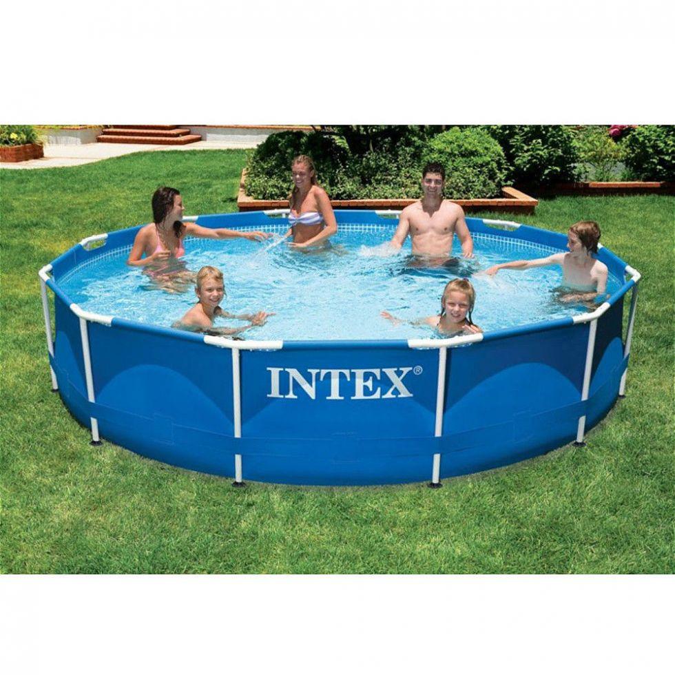 Каркасный бассейн Intex 28210 366*76 см