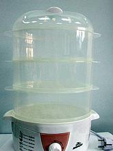 Пароварка Добрыня DO-3202 600Вт, 3 чаши