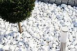 Белая натуральная галька мраморная, фото 7