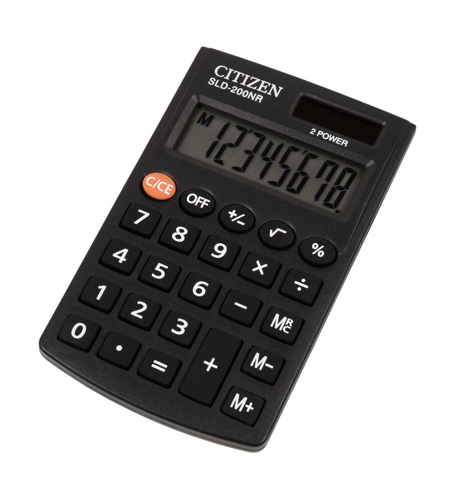 Калькулятор Citizen SLD-200NR (черный)