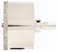 Сверло алмазное по керамограниту, 65 х 67 мм, трехгранный хвостовик Matrix, фото 1