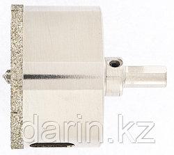 Сверло алмазное по керамограниту, 65 х 67 мм, трехгранный хвостовик Matrix