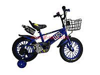 Велосипед Phillips синий оригинал детский с холостым ходом 14 размер
