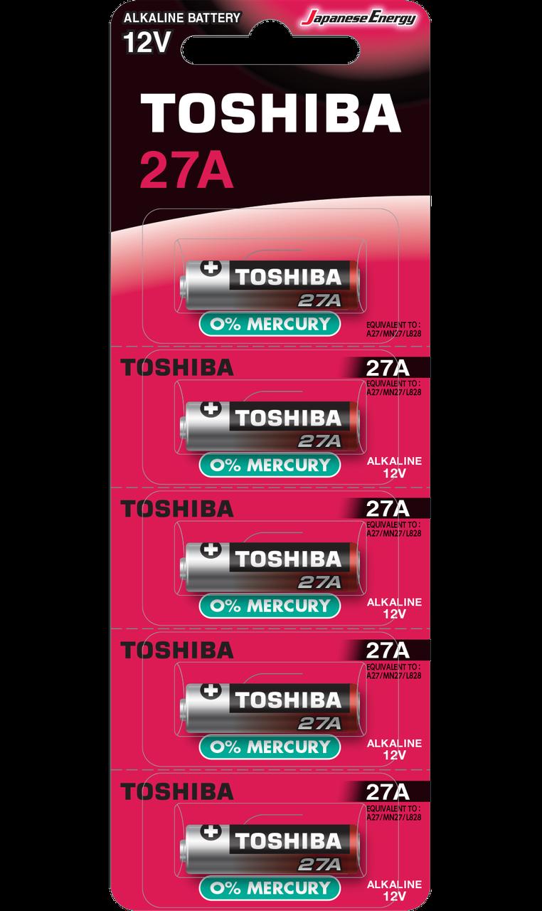 Toshiba HIGH POWER 27A BP-1C Алкалиновая батарейка