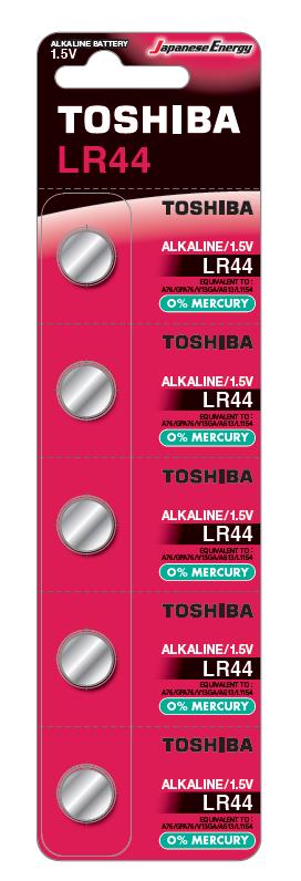 Батарейка  алкалиновая Toshiba HIGH POWER LR44 BP-5C алматы