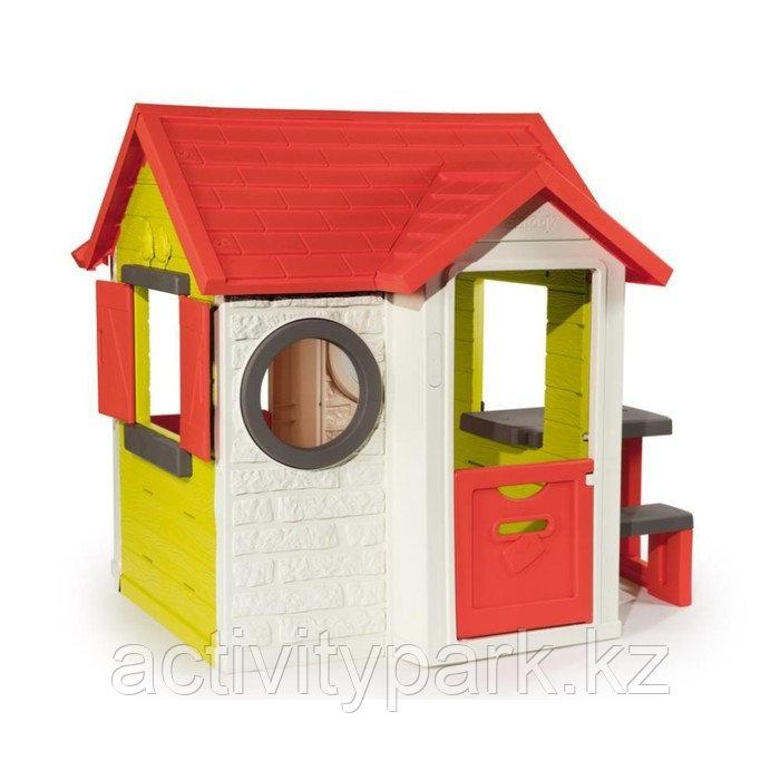 Игровой детский домик Smoby, со столиком