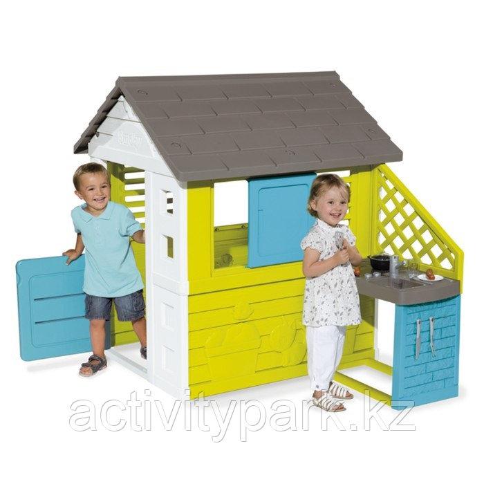 Игровой домик Smoby, с кухней