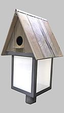 Светодиодный светильник парковый-торшерный скворечник