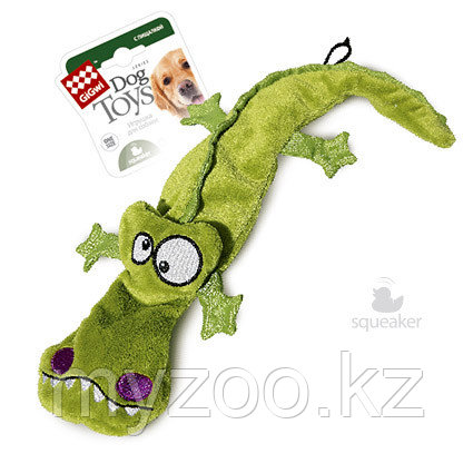 GigWi, ГигВи Крокодил с 4-мя пищалками.38см
