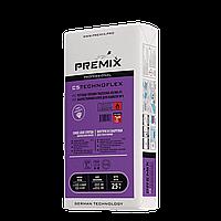 Жаростойкий клей для всех видов плитки PREMIX C5 Technoflex