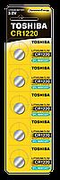 Батарейка алкалиновая таблетка Toshiba CR1220 PW BP-5N