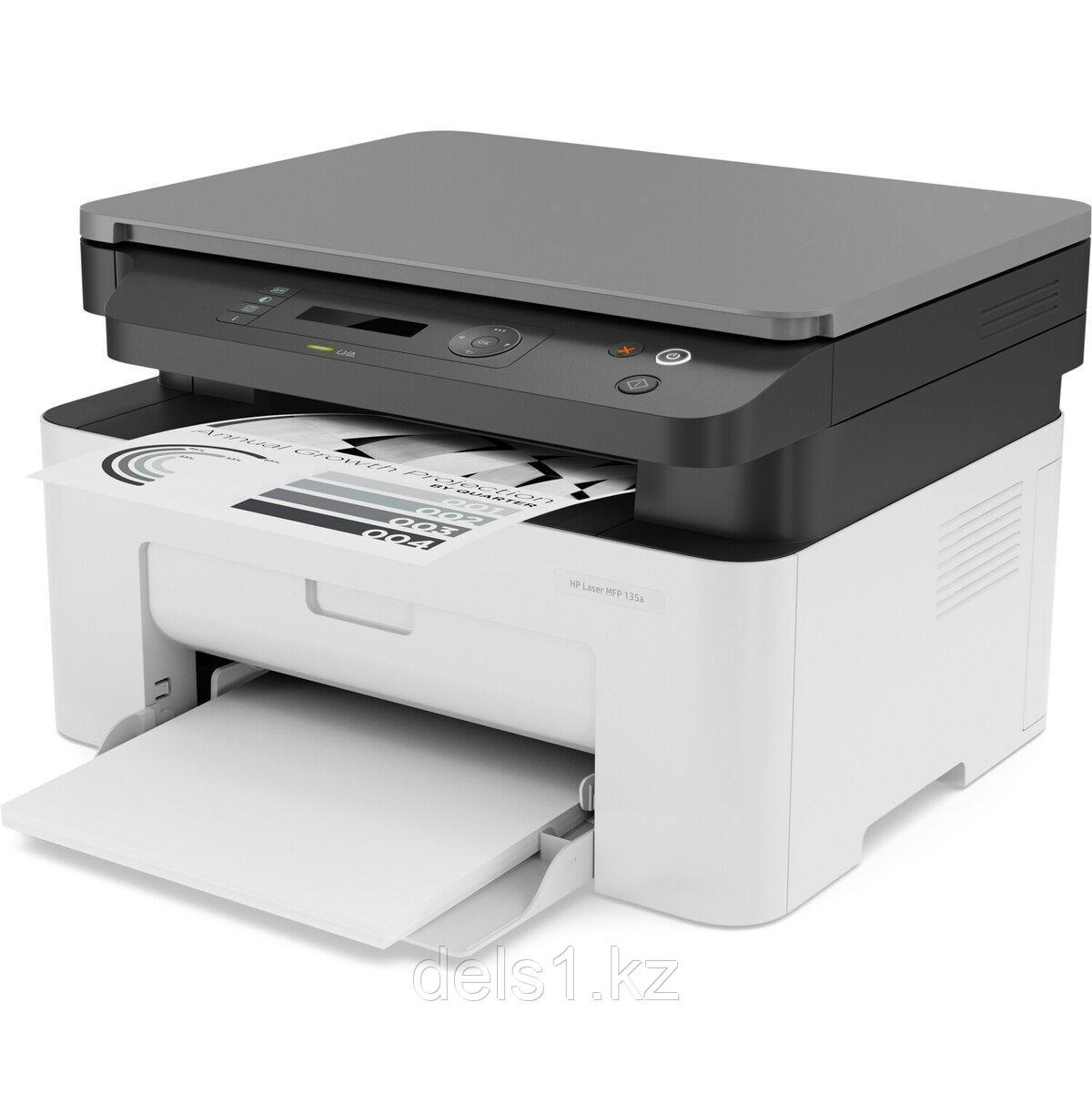 Черно-белое МФУ HP 135a