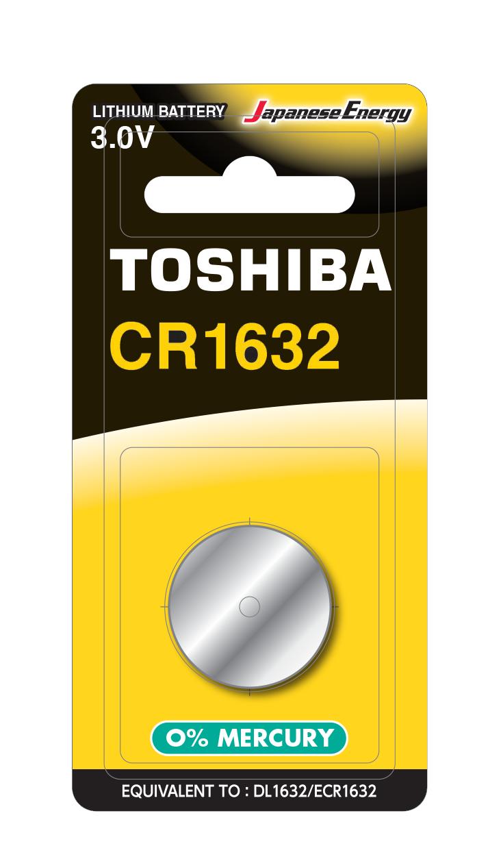 Батарейка алкалиновая таблетка Toshiba CR1632 BP-1C