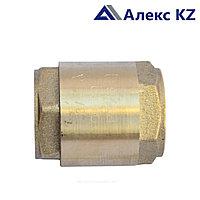 Клапан  обратный латунь пруж Ду 15 Ру16 ВН/ВН д/ пласт