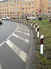 Столбик сигнальный дорожный СТИЛФЛЕКС c прямым верхом с пленкой, фото 5