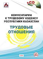 Комментарии к Трудовому кодексу РК  на Июль 2020 г. Трудовые отношения.(+CD)