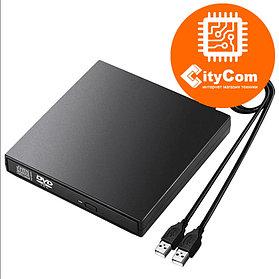 Внешний DVD привод, считыватель оптических дисков. USB DVD-RW.