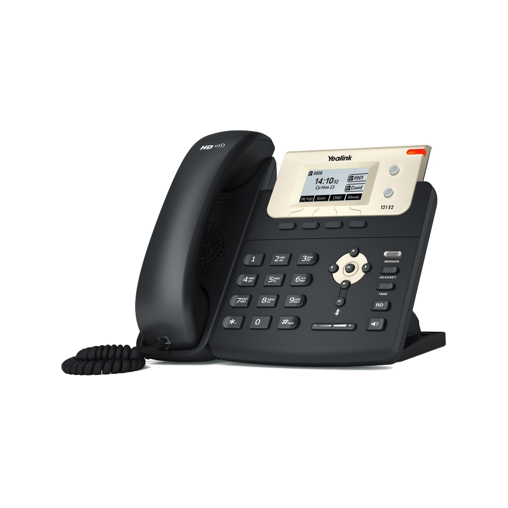 IP телефон Yealink SIP-T21P E2 без БП
