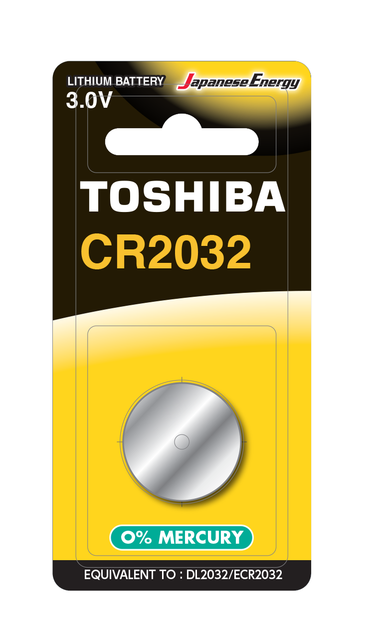 Батарейка алкалиновая таблетка Toshiba CR2032 BP-1C