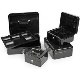 Ящик для денег 152х118х80мм, черный