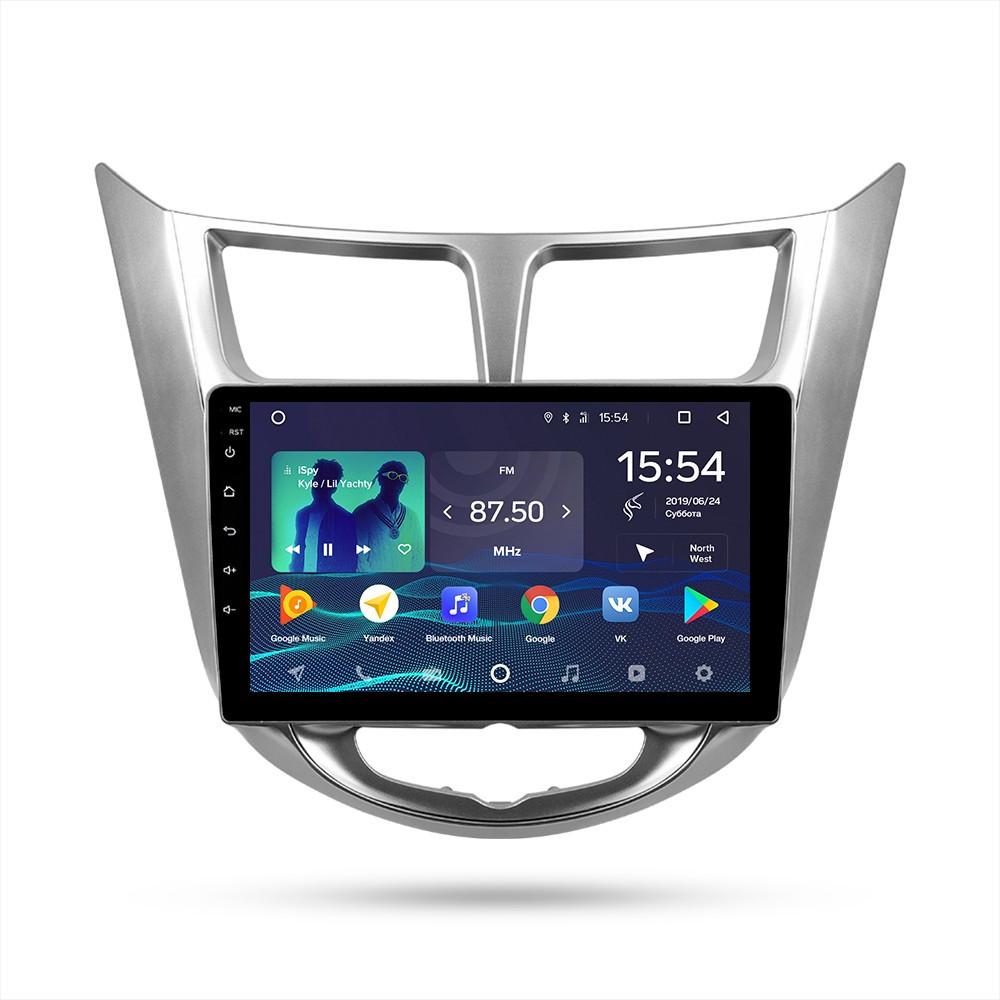 Автомагнитола Hyundai Solaris Teyes Android