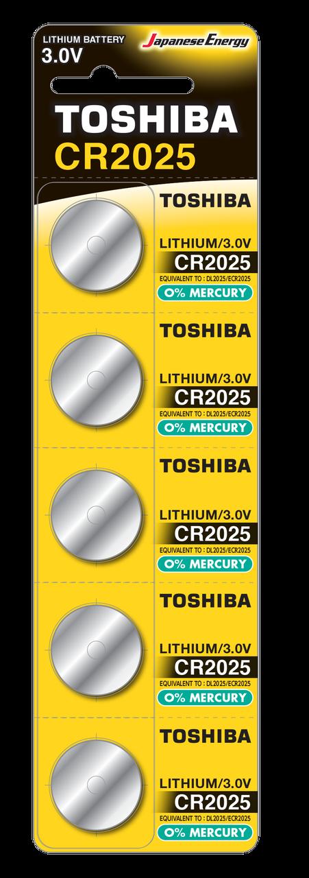 Батарейка алкалиновая таблетка CR2025 PW BP-5N