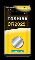 Батарейка алкалиновая таблетка Toshiba СR2025 BP-1С
