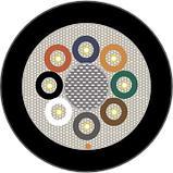 HITRONIC® HRM-FD, Гибкий многомодовый кабель с возможностью разделения для буксируемых кабельных цепей, фото 2