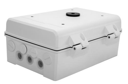 """TR-JB12-IN - 12"""" распредкоробка для монтажа скоростных купольных камер UNV."""