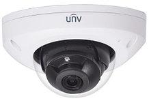 IPC312SR-VPF28-C - 2MP Уличная купольная высокочувствительная антивандальная мини-IP-камера с поддержкой дуплекс-аудио и с ИК-подсветкой 15 м. Серия P