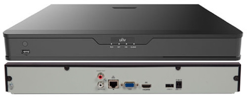 NVR302-09S - 9-ти канальный сетевой видеорегистратор с поддержкой записи 8MP и 2 SATA-интерфейсами. Серия Easy.