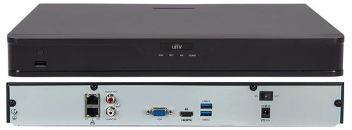 NVR302-32S - 32-х канальный сетевой видеорегистратор с поддержкой записи 8MP и 2 SATA-интерфейсами. Серия Easy.