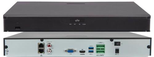 NVR302-16E-IF - 16-ти канальный сетевой видеорегистратор с поддержкой записи 12MP, видеоаналитикой и 2 SATA-интерфейсами. Серия Prime 2.