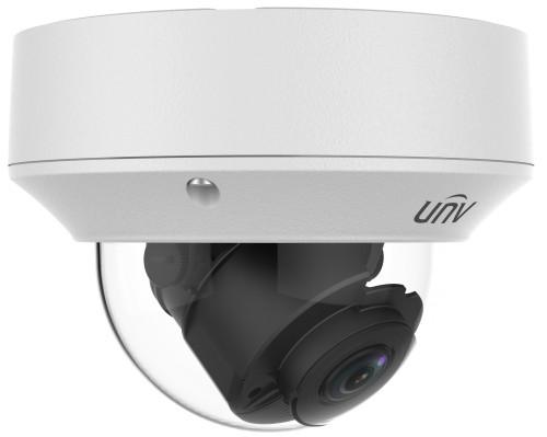 IPC3238ER3-DVZ - 8MP (4K Ultra-HD) Уличная купольная антивандальная варифокальная (моторизованный зумм) IP-камера с дуплекс-аудио, PoE-сплиттером и ИК