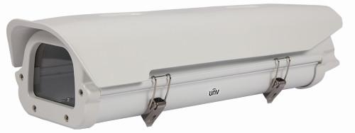 HS-217SHB-BL - Защитный термокожух внешней установки со втроенными вентилятором и обогревателем для корпусных камер UNV. IP65.