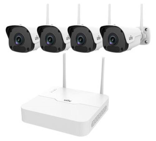 KIT / NVR301-04LB-W / 4×IPC2122SR3-F40W - Комплект IP-видеонаблюдения из 4-х 2MP Wi-Fi камер и 4-х канального 2MP Wi-Fi NVR. Серия Easy.