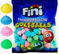 Маршмелоу «Мячики-гольф разноцветные» 0,86кг 125шт  /FINI Испания/