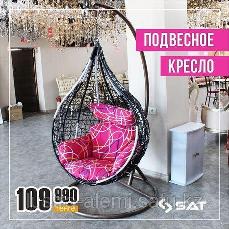 """Кресло Качеля """"Черный"""", фото 2"""