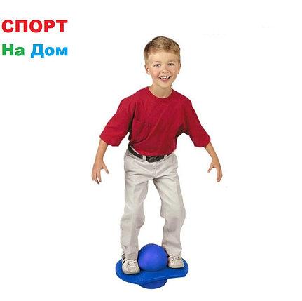 Мяч балансировочный с доской  30 см (цвет зелёный,красный), фото 2